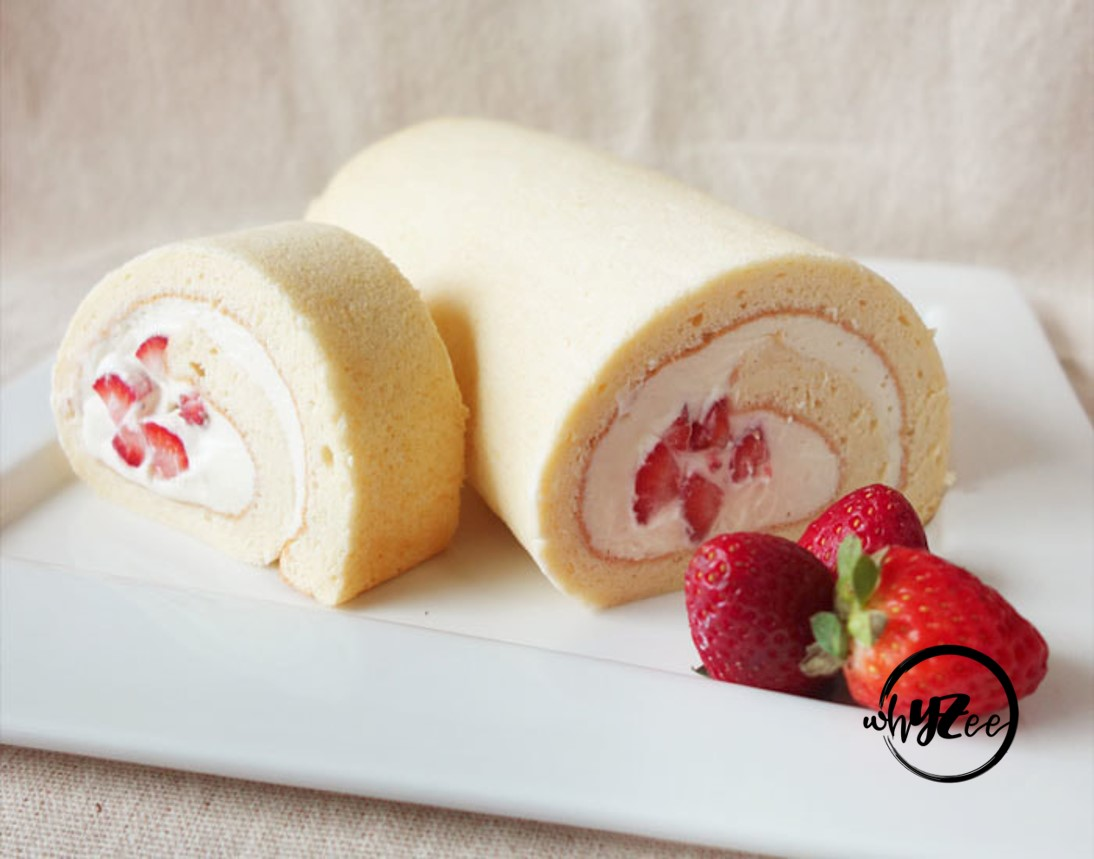 Japanese Fruits Swiss Roll