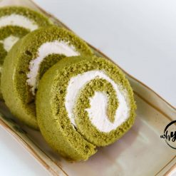 Matcha Swiss Roll - Whyzee Birthday Cake Delivery