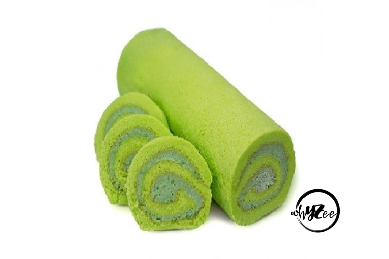 Pandan Kaya Swiss Roll - Whyzee Birthday Cake Delivery