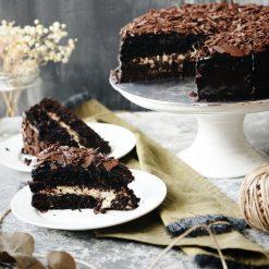 D24 Durian Chocolate Fudge Cake