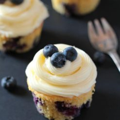 Blueberry cupcake - Whyzee Birthday Cake Delivery