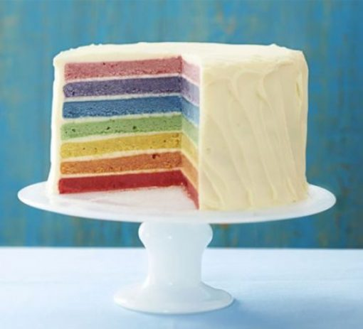 Rainbow eggless cake - Whyzee Birthday Cake Delivery
